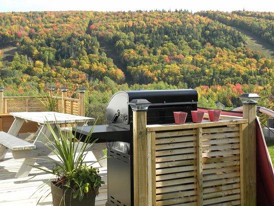 Saint-Mathieu-de-Rioux, Καναδάς: Site plateau du haut en automne