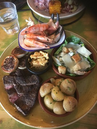 The Pharmasea: Excellent Surf and Turf