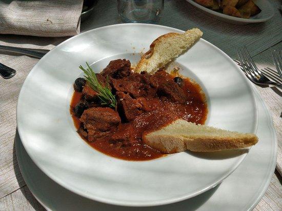 Ristorante dei Merli: Cinghiale in umido con olive