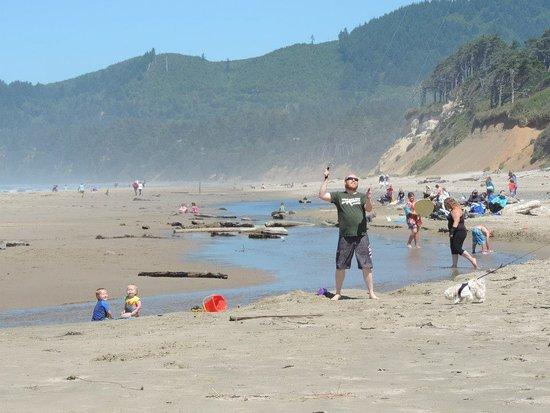 Otter Rock, OR: Kite flying & beach fun