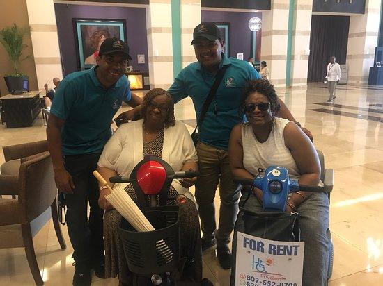 Баваро, Доминикана: Family for Ever Handicap Travelers DR.