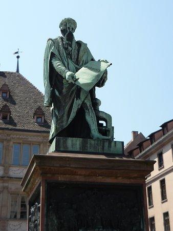 Statue Gutenberg