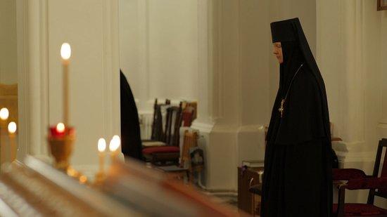 Borodino, Rússia: Настоятельница монастыря Матушка Серафима
