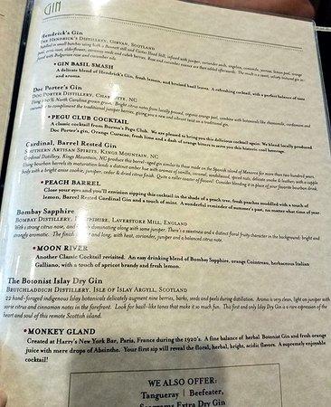 Denver, NC: Gin list