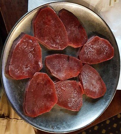 YakiniQ BBQ: Beef tongue