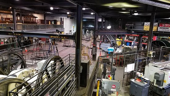 Cable Car Barn Museum - Picture of San Francisco Shuttle Tours ...