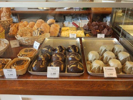 Jute Baeckerei: Some sweet options (all gluten-free of course!)