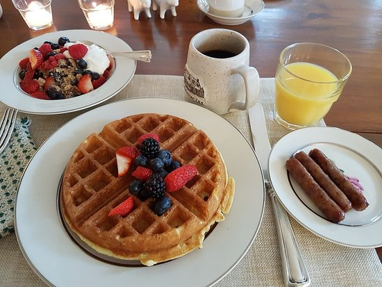 Taftsville, VT: Frühstück