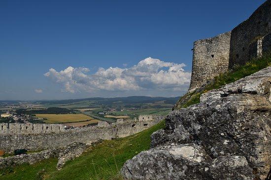 Spis Castle: camminamento