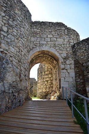 Spis Castle: ingresso