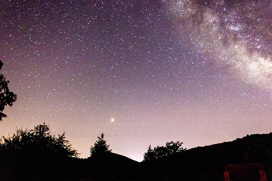 Yunquera, Espagne : Vista del cielo durante la actividad