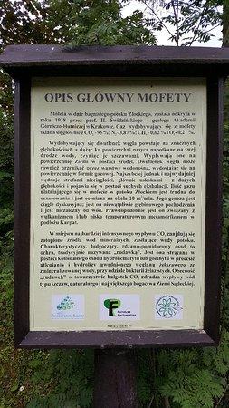 Muszyna, Poland: Mofeta w Złockiem imienia Profesora Henryka Świdzińskiego