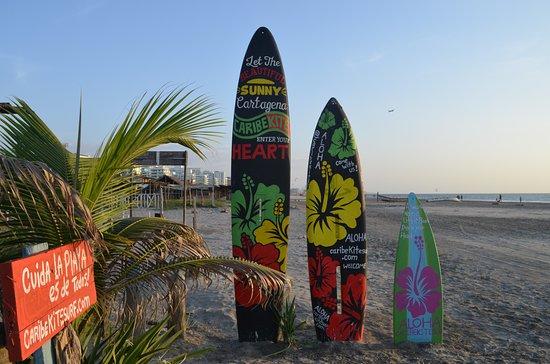 La Boquilla, Colombia: Cartagena kitesurf