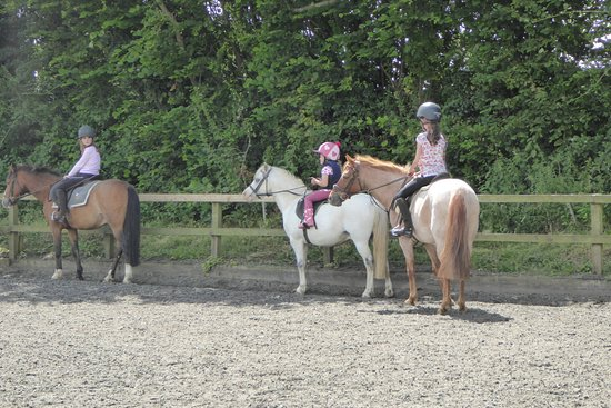 Templecombe, UK: riding lessons for children