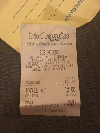 Restauranter i Favignana