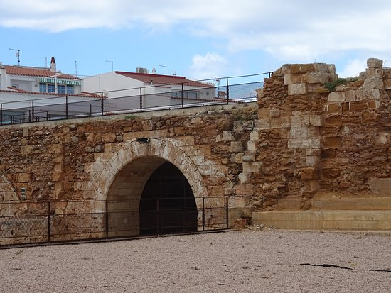 ruins of 17th century Castell de San Antoni dating from 1637-1671