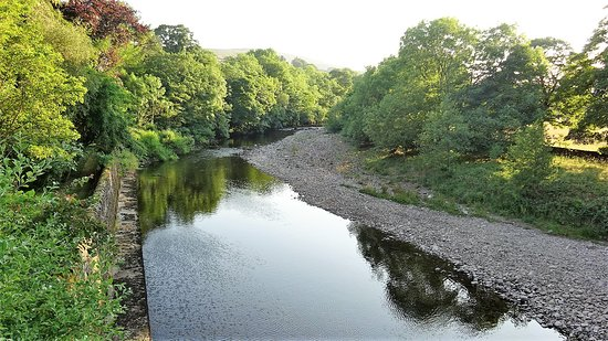 Grinton, UK: The River Swale