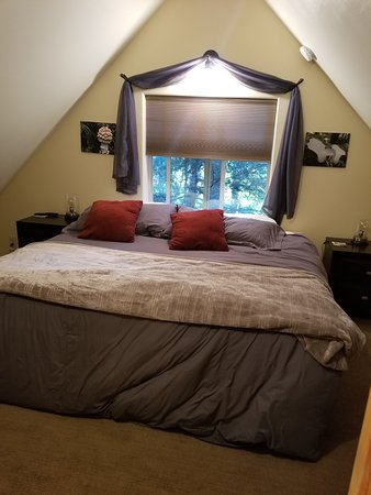 Placer cabin is perfect for a family