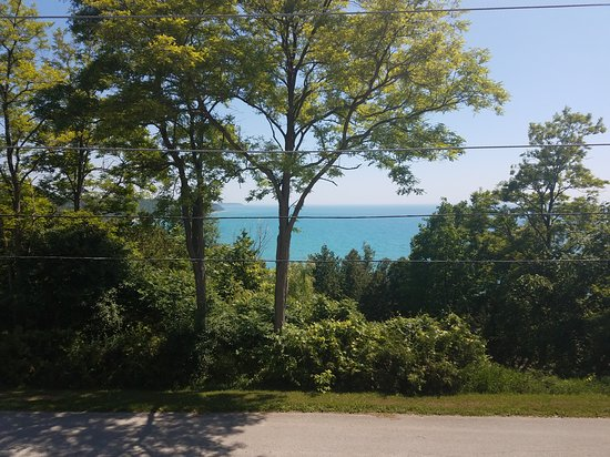 Port Albert, Canada: View from the porch