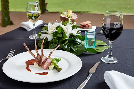 Sandals Restaurant & Barefoot Bar: Rack Of Lamb
