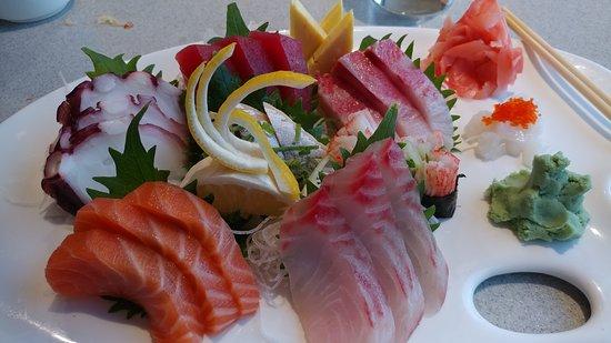 Lynnfield, แมสซาชูเซตส์: Fugakyu Shashimi platter - Bechego