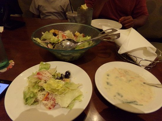Soup Salad And Breadsticks Picture Of Olive Garden Italian Restaurant Knoxville Tripadvisor