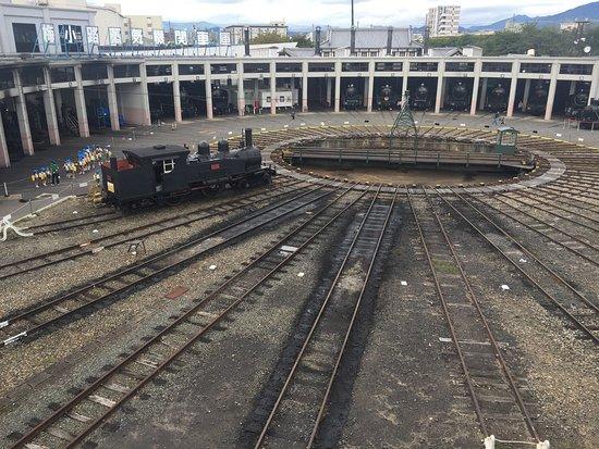 京都铁道博物馆照片