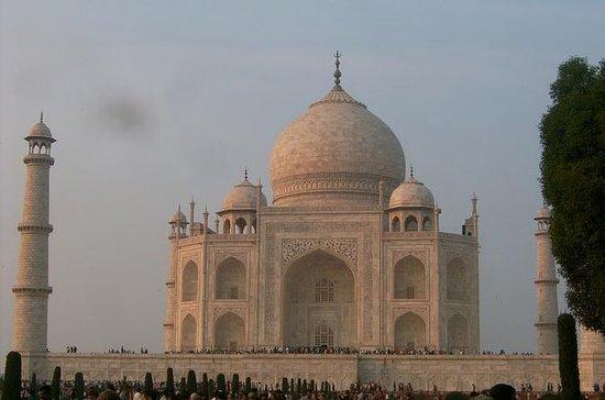 Taj Mahal de dia inteiro, Forte de...