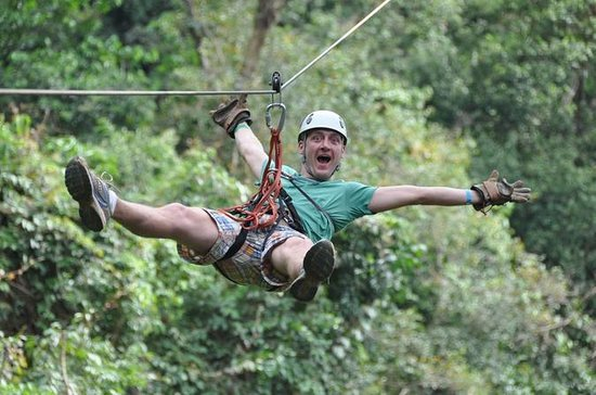 Zipline and Banana Plantation Tour ...