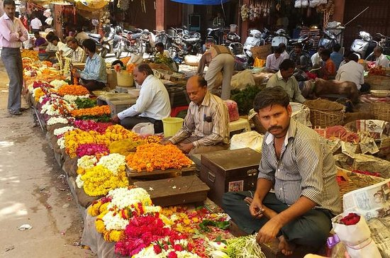 Morning Visit to Flower Market with...
