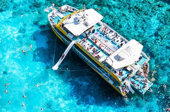 Île Comino: Lagon bleu, lagune de...