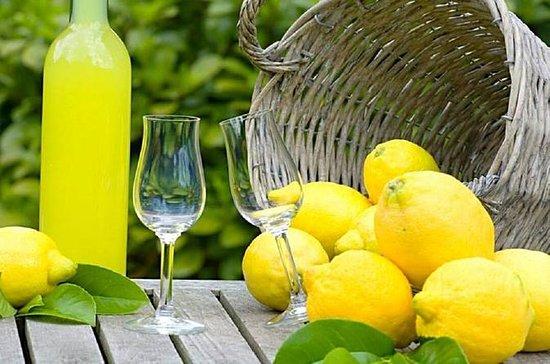 Limoncello, huile et tour incrusté