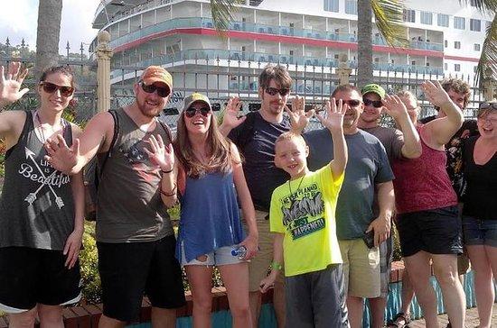 Cruiseschip eiland excursies