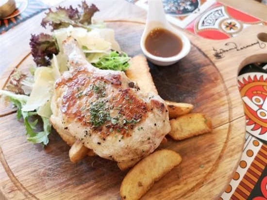 Hami Harmony:Lunch - 西班牙黑毛豬 烤新薯粒 $ 138