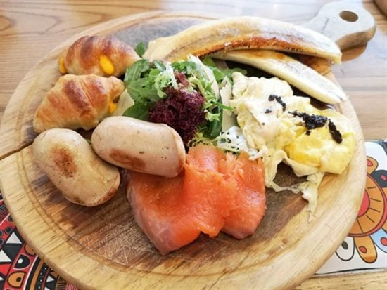 Hami Harmony:All day breakfast $ 98