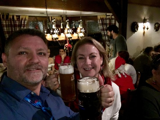 King Ludwigs German Restaurant & Bar: Christmas in July evening