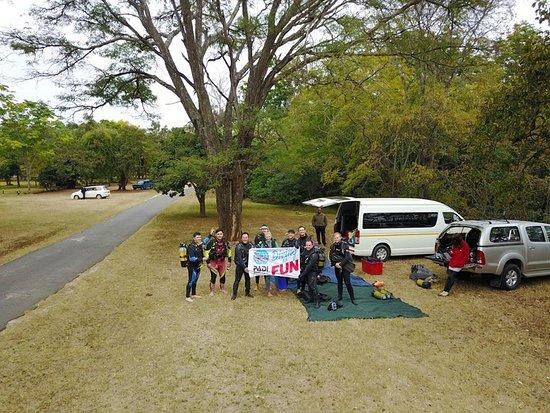 Harare, Zimbabwe: Chinhoyi Caves Divers