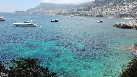 Roquebrune-Cap-Martin, Francia: Monaco in the background