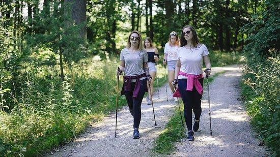 Lichen Stary, Polônia: Turystyka piesza