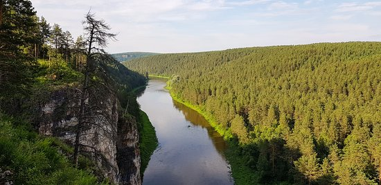 Chelyabinsk Oblast, Russland: река Ай
