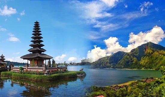 Seminyak, Indonesia: Bedugul Temple, Bali