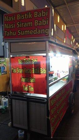 Sudirman Street: Nasi bistik babi..