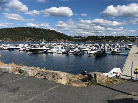 Kragero Municipality, Norway: Fra båthavna