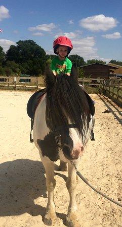Wisborough Green, UK: Pony ride
