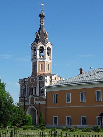 Trinity-Odigitrievsky Stavropigialny Convent Zosimova Deserts ภาพถ่าย