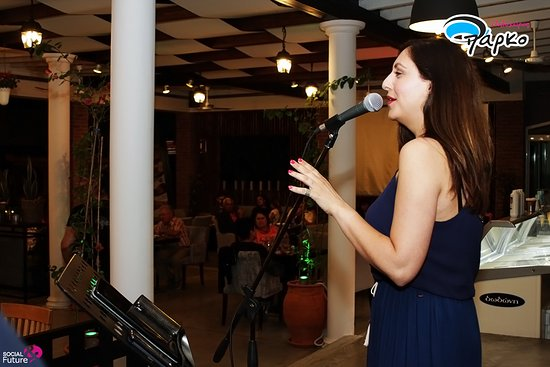 Live nights with greek songs  Visit us and you won't regret