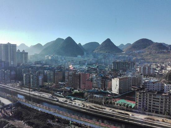 Liupanshui, China: Nice view from room
