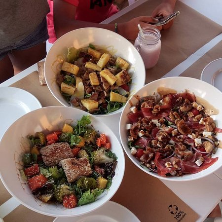 The Woods - Love Fresh Food: salads