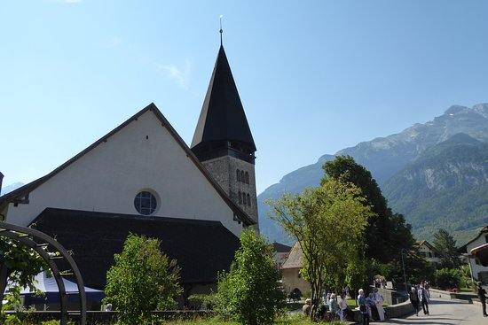 Meiringen, Sveits: Eingang