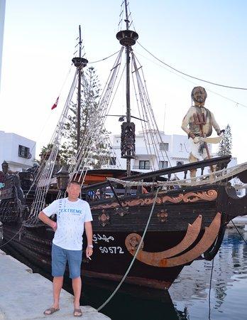 Gouvernement Tunis, Tunesien: один из пиратских кораблей
